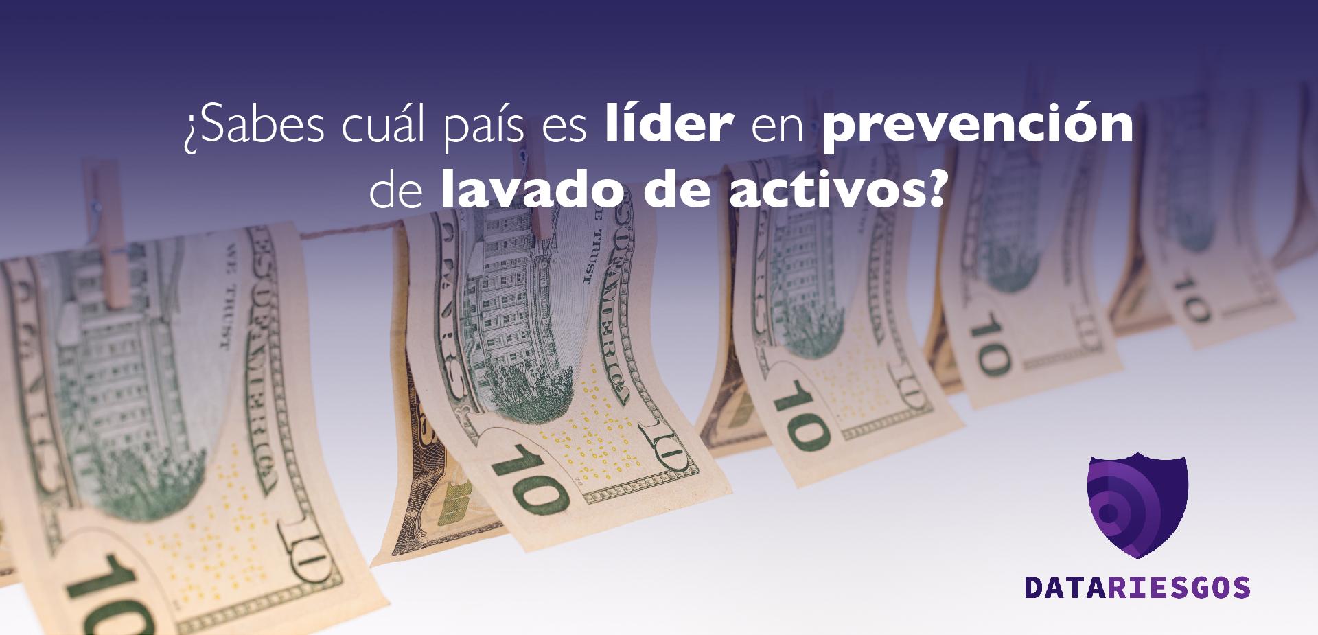 Data Riesgos, Colombia líder en prevención LAFT