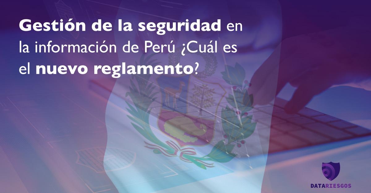 Gestión de la seguridad en la información de Perú